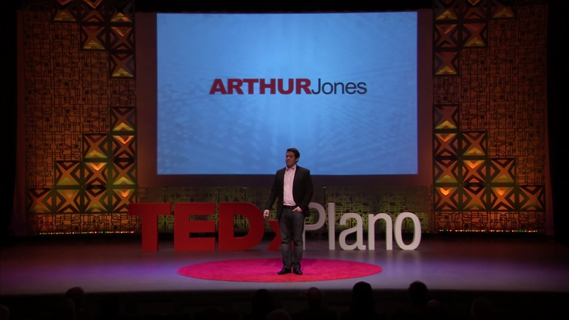 Arthur Jones' TED talk