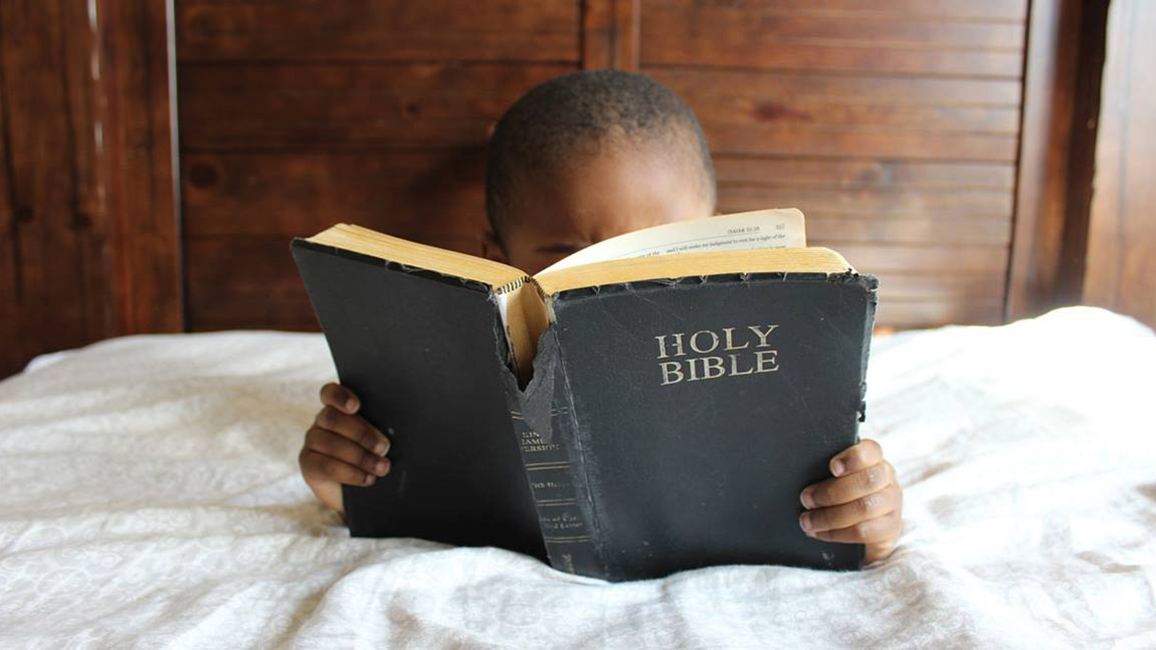 Child with Bible