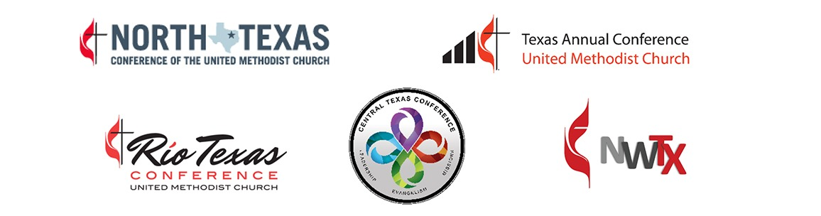 Picture of 5 logos from Texas Conferences