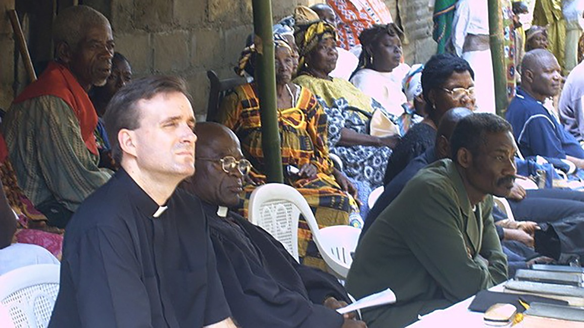 Wes Magruder in Cameroon