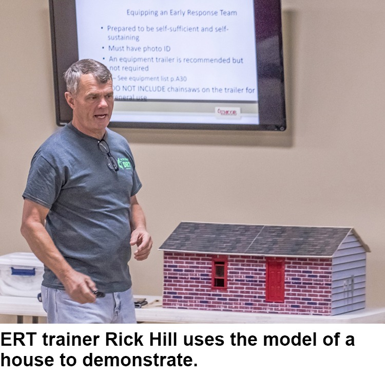ERT trainer Rick Hill