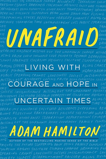 Unafraid book jacket