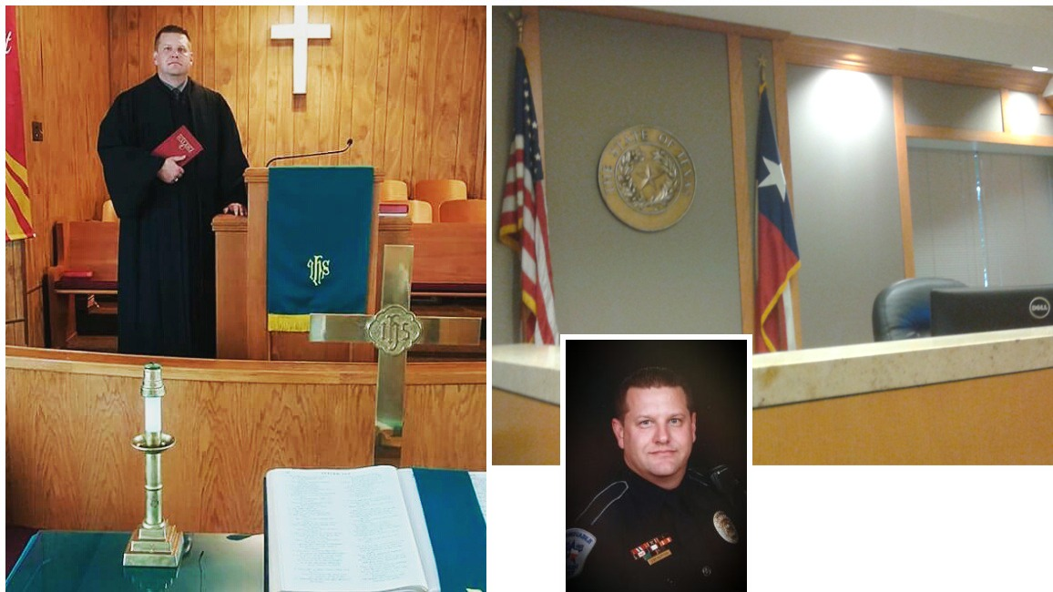 Ash Harmon: pastor and cop