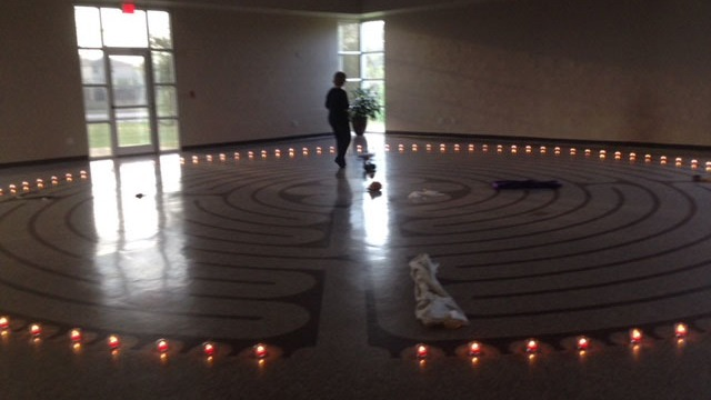 Trinity Duncanville labyrinth