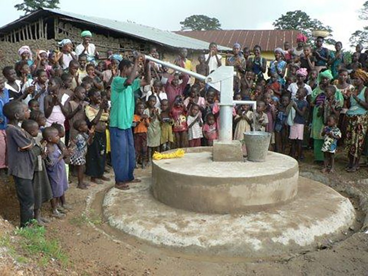 A well in Africa