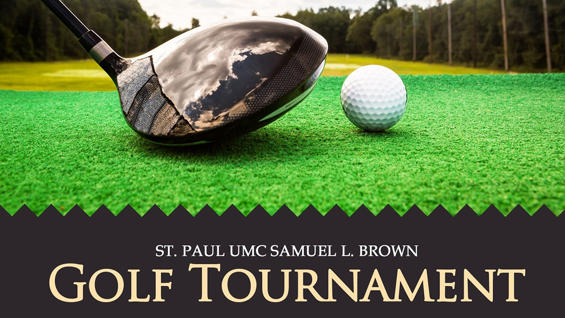 St. Paul charity golf flyer